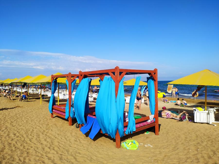 Вид на пляж 117
