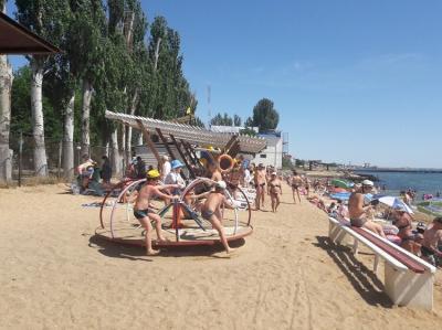 Фото обьекта Пляж Лазурный Берег №221385
