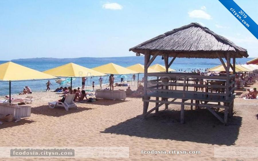Вид на Жемчужный пляж