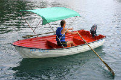 Фото обьекта Прокат моторных лодок с тентом №142622