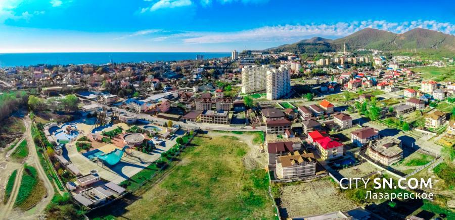 лазаревское фото со спутника нас