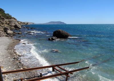 Фото обьекта Пляж за пирсом  №222293
