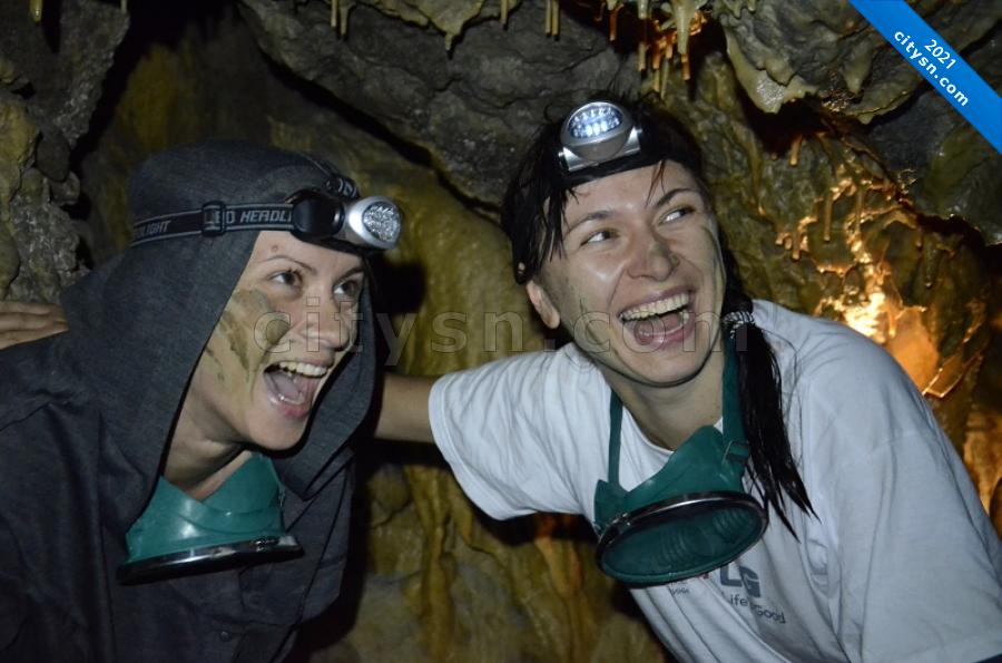 D пещере Федэля