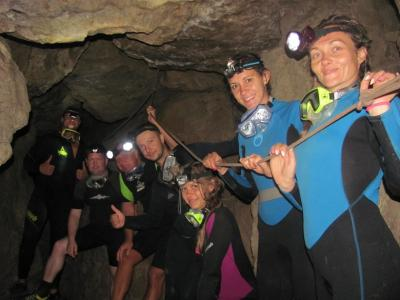 Фото обьекта Дайвинг в пещеру Федэля. №222226
