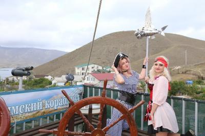 Фото обьекта Отдых на пиратском корабле №211427