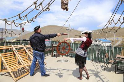 Фото обьекта Отдых на пиратском корабле №211442