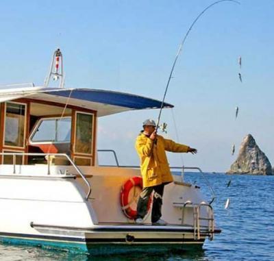 Фото обьекта Морская рыбалка с лодки №141151