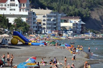 Фото обьекта Водные аттракционы на центральном пляже №141159