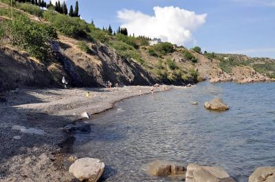 Фото обьекта Дикий пляж на окраине №146475